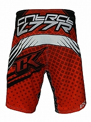 Shorts Grappler Red3