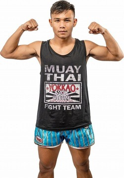 Yokkao Fight Team Black Tank Top 1