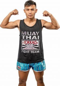 Yokkao Fight Team Black Tank Top 1
