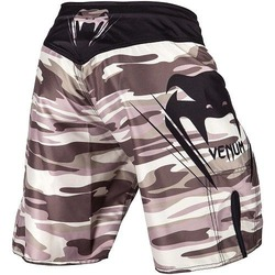 Wave Camo Fightshorts brown3