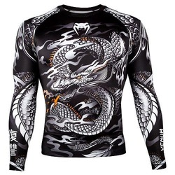 Dragons Flight Rashguard LS blackwhite 1