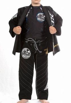 Kids Jiu Jitsu Gi Discipline Black 2