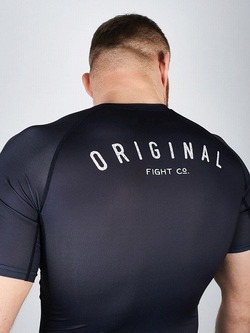 rashguard OLDSCHOOL black 3