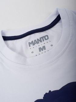 MANTO tshirt VIBE white 4