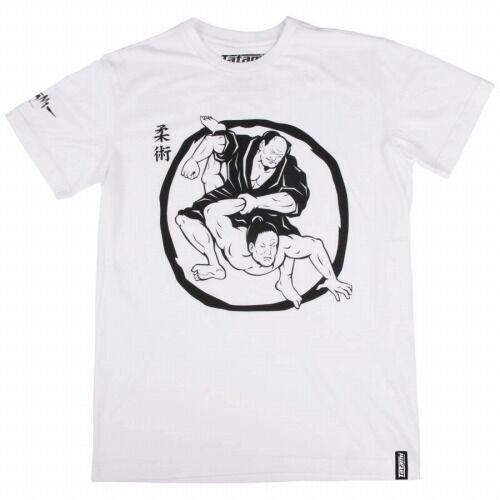 Tatami_T-shirt_Samurai_Wrestking_White_1