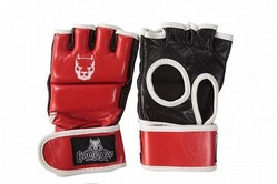 Red Line Thumb Lock MMA Gloves 1
