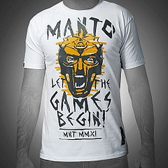 MANTO tshirt GLADIATOR white1
