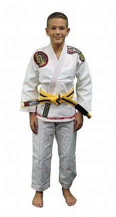 Built To Submit Deluxe Kids White Gi 1