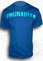 T-Shirt-Branded FoilBlue1