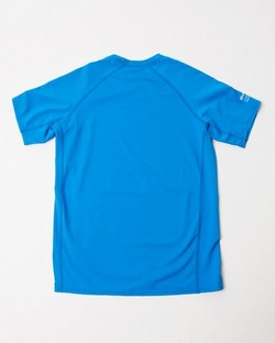 AJ045850 kids RVCA SHORT SLEEVE blue2