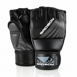 Training Series Impact MMA Gloves With Thumb blackgrey1