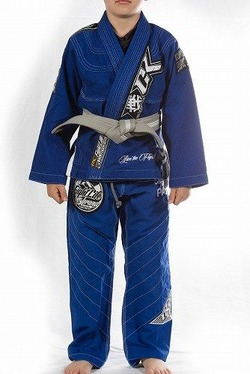 Kids Jiu Jitsu Gi Discipline Blue 1