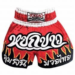 Devil Flames Muay Thai Boxing Shorts1