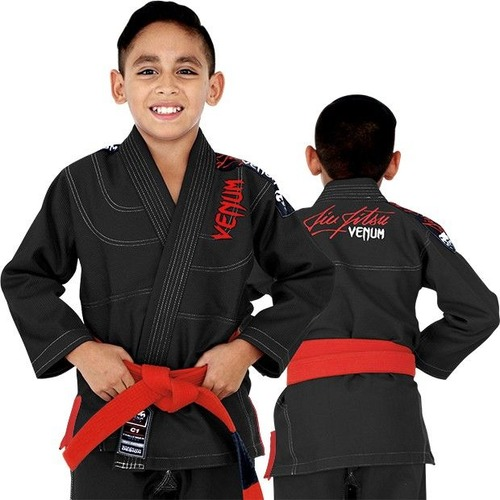 0 KIDS BJJ GI - BLACK 1
