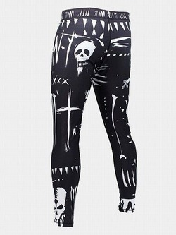 grappling tights VOODOO black 2