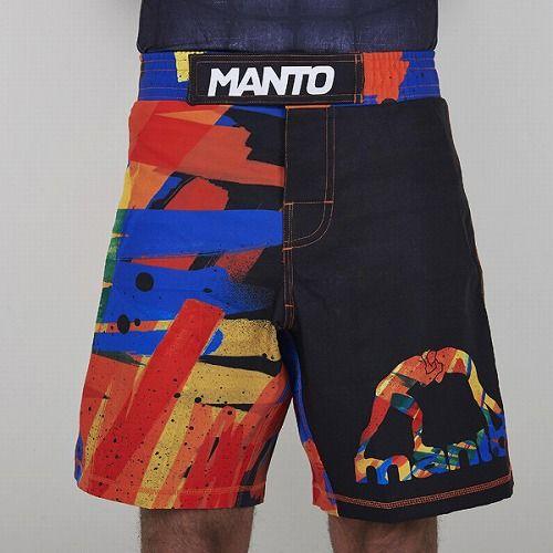 fight shorts MARKER BK1