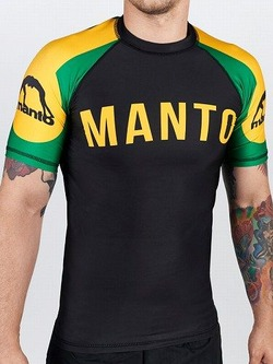 short sleeve rashguard ARC blackyellow1