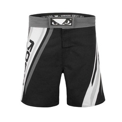 Pro Series Advanced MMA Shorts black white 1