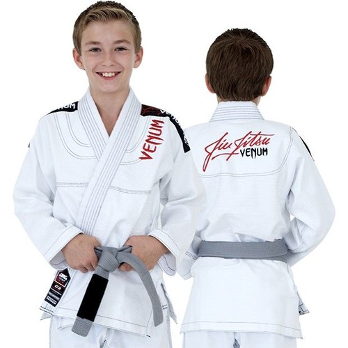 0 KIDS BJJ GI - WHITE 1