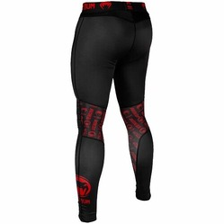 Logos Tights blackred3