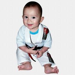 KIMONO BABY KORAL white 1