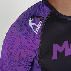 Rash Short sleeve Victory BK Purple3