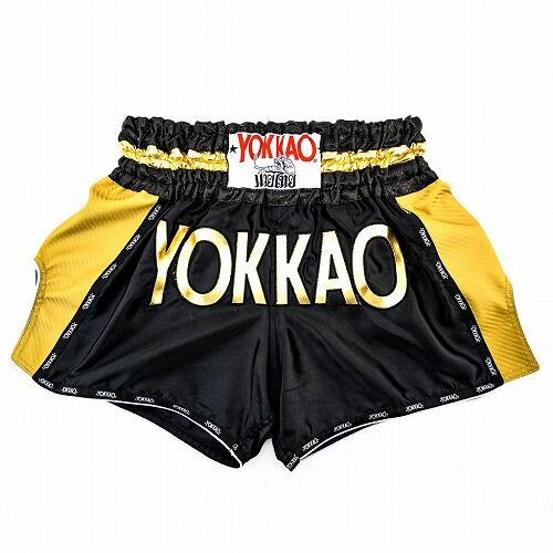 carbonfit-shorts-muay-thai-yokkao-gold