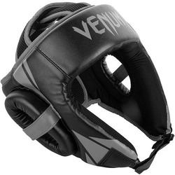 Challenger Open Face Headgear blackgrey 1
