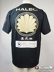 BULL TERRIER Tシャツ 憂流迦モデル 黒
