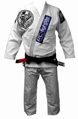 Limited Edition Fight Life Gi White 1