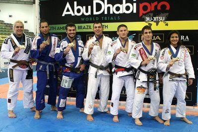 アブダビプロブラジル優勝者