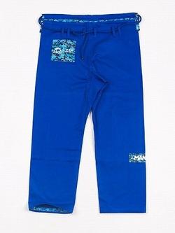 CAMO BJJ GI blue 5