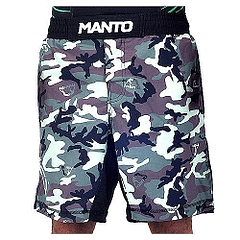 MANTO fight shorts CAMO black green1