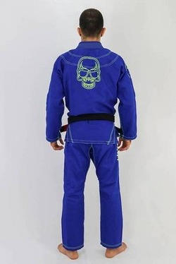 Kimono Shadow blue 2