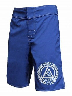 Royal Blue Faght Shorts 1