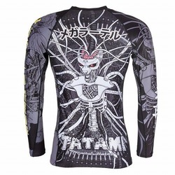 Cyber Honey Badger Rash Guard 3