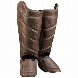 T3 Kanpeki Striking Shin Guards brown 1