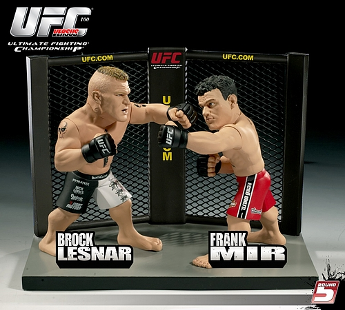 UFCフィギュア ブロック・レスナーVSフランク・ミア
