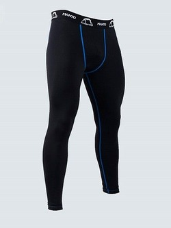 training tights BASICO black blue 1