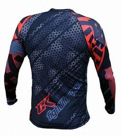 Droid red rashguard Long sleeve 4