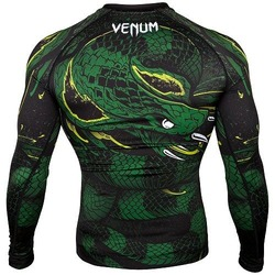 Green Viper Rashguard LS BlackGreen 2