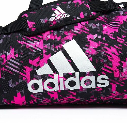 14adiACC058 - 2IN1 BAG - PINK Camo - close up 01