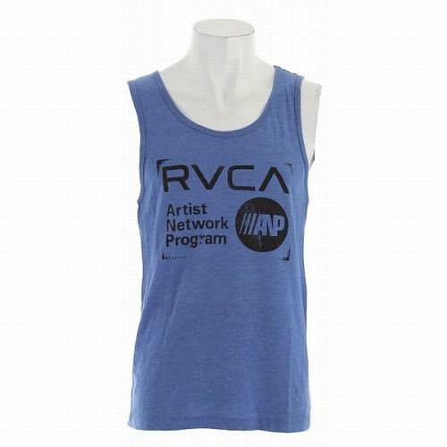 Stamp Tank Top Blue1