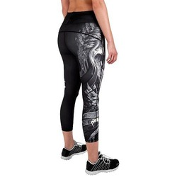 Phoenix Leggings Crops BlackWhite 4