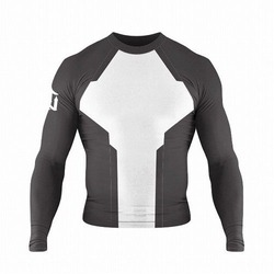 Evolve Rash Guards Long Sleeve black 1