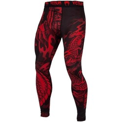 Dragons Flight Spats blackred 1