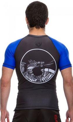 Rash Guard Maori blue3