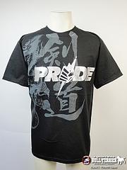 PRIDE Tシャツ Silver 黒