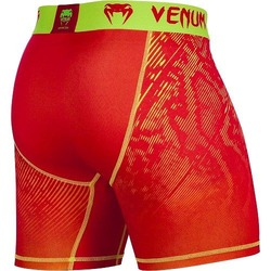 Fusion Compression Shorts orange yellow 2