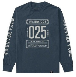 YEAR ROUND LONG SLEEVE TEE indigo 1